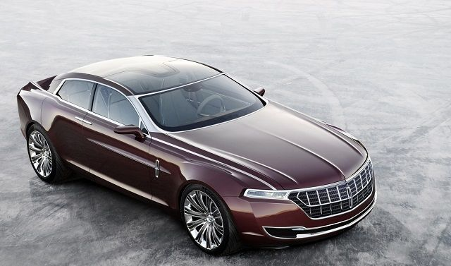2016 Lincoln Continental Concept Release And Price