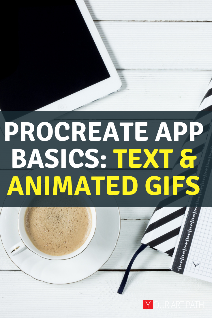 Procreate 4.3 Update OMG Text + Animation Gifs!!! Text