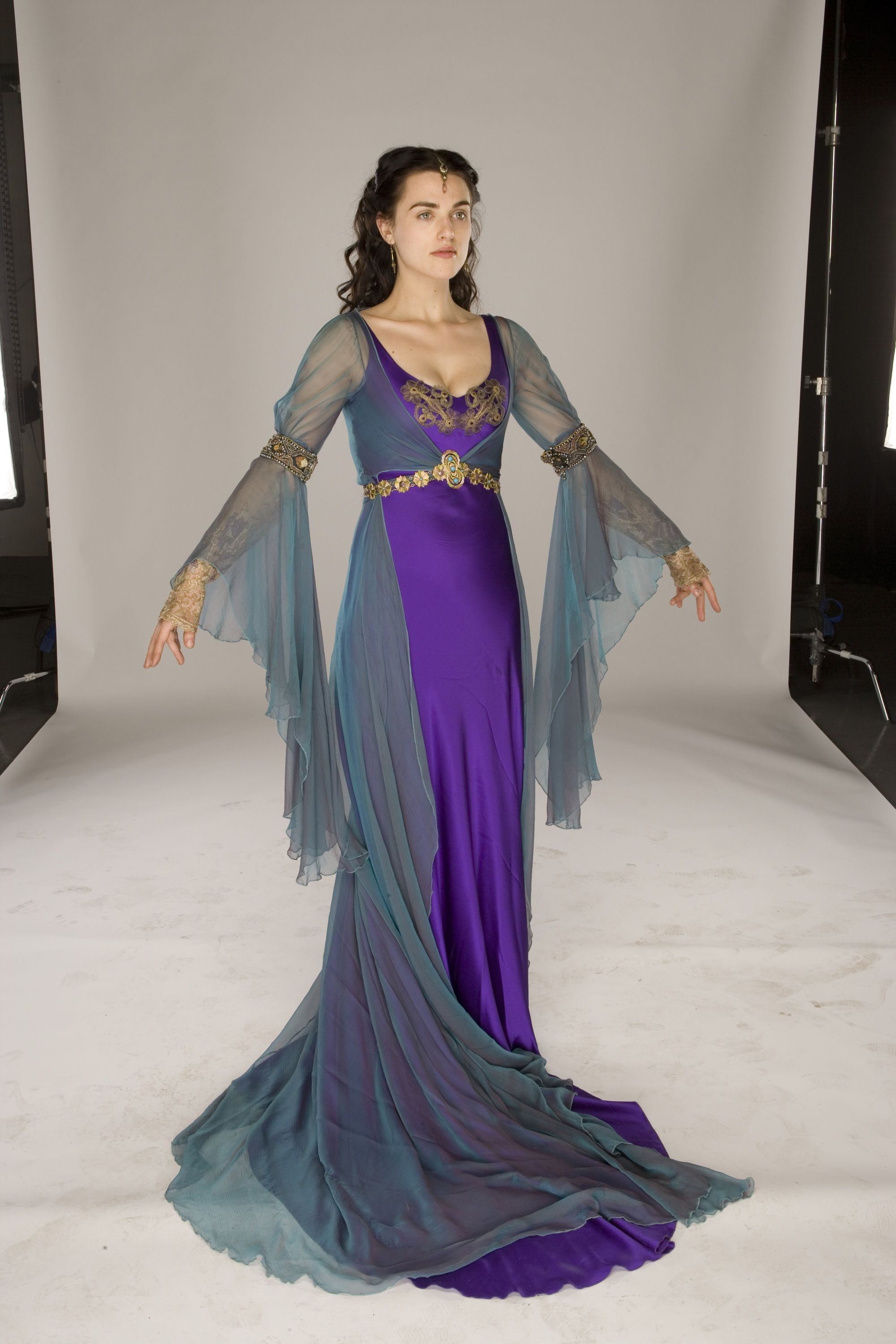 Merlin Photoshoot For Morgana Portrayed By Katie Mcgrath Fantasy Dress Costume Design