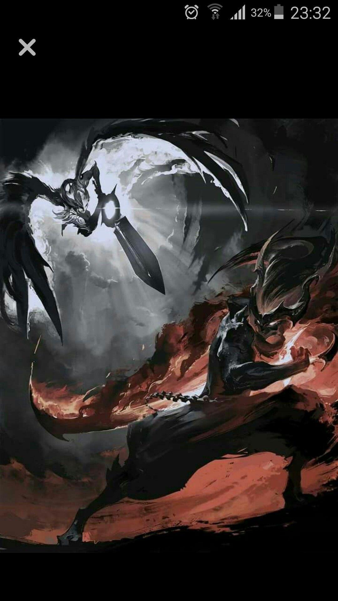 League Of Legends Riven And Yasuo League Of Legends Art League