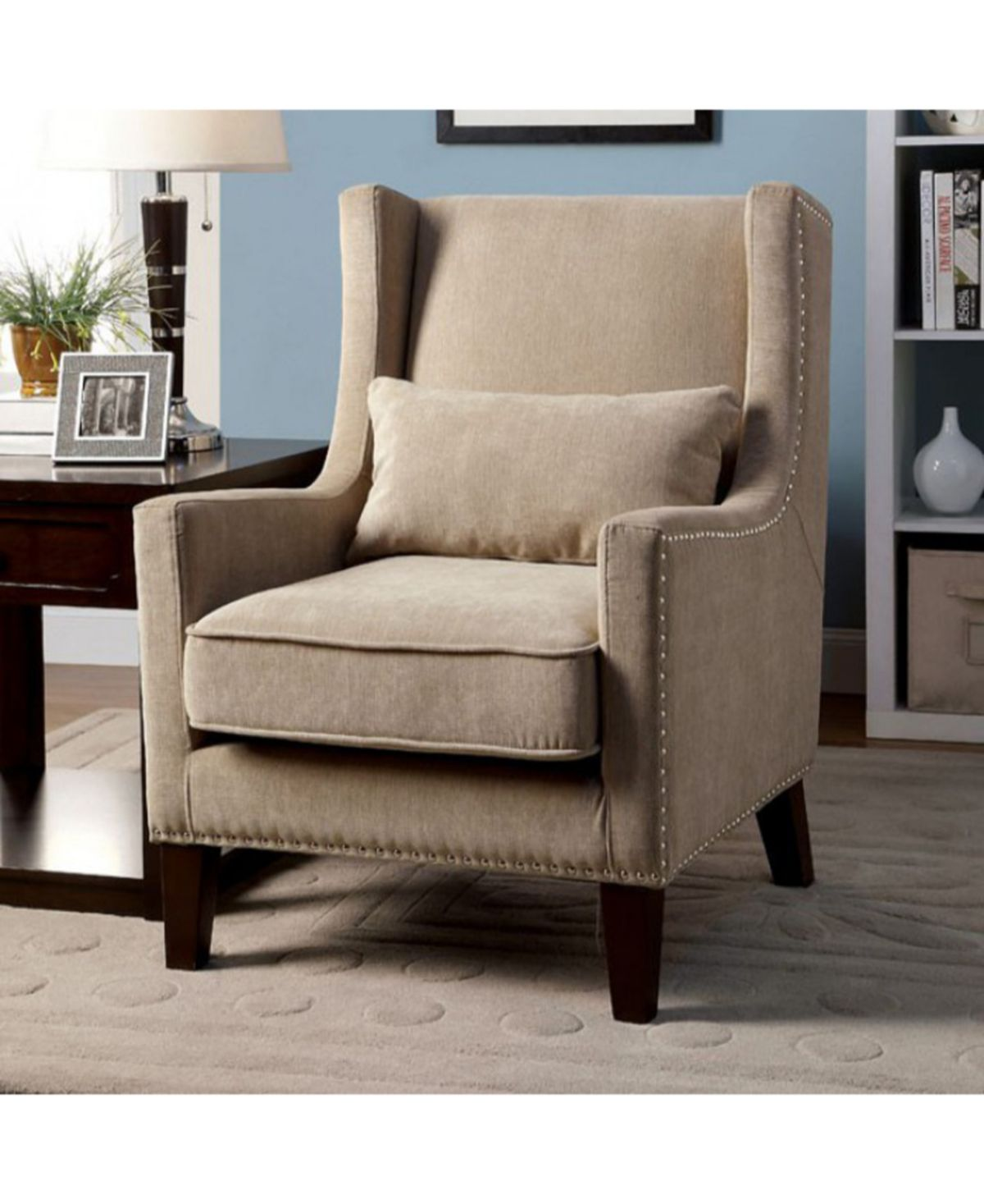 Benzara Transitional Accent Chair Reviews Chairs Furniture