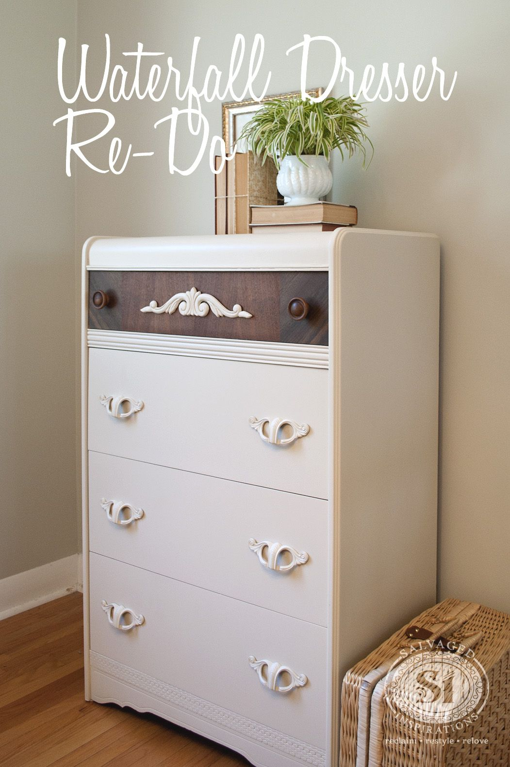 Best Waterfall Dresser – Not A Huge Fan General Finishes Milk 640 x 480