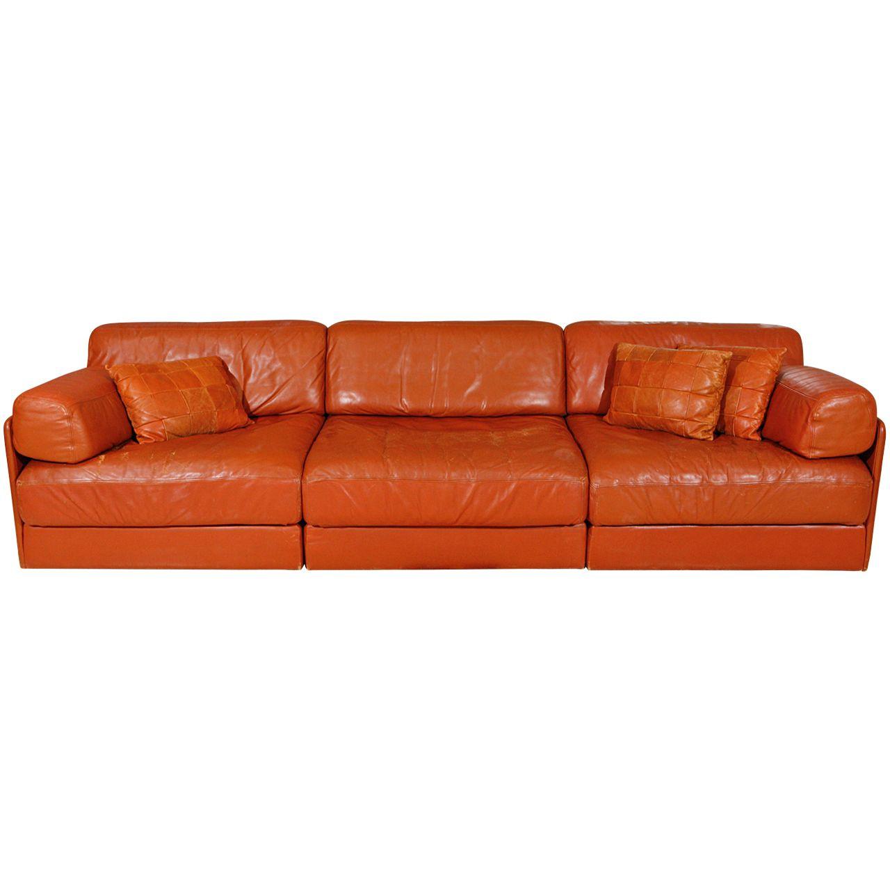 De Sede Sleeper Sofa Remo Fabric Reviews Modular Leather By 1stdibs Com Living Room
