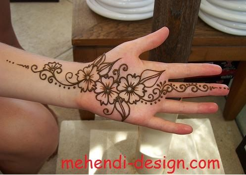 Very Simple And Easy Mehndi Designs All The Rest