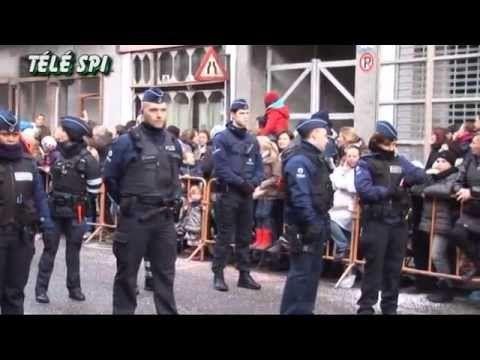 "Cortège du Carnaval de Mardi à Binche 17-02-2015 ""Télé SPI"""