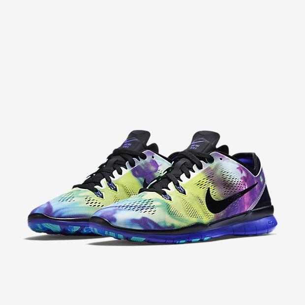 hot sale online b4fef 1e158 Nike Free TR 5 Print Womens Training Shoe