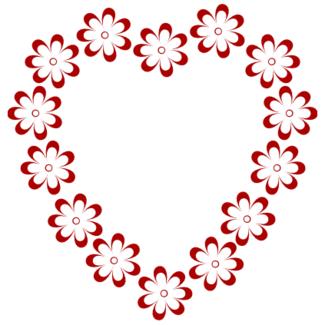 Border Clipart Heart Shaped Flowers 1 Clip Art Borders Free Clip Art Book Clip Art