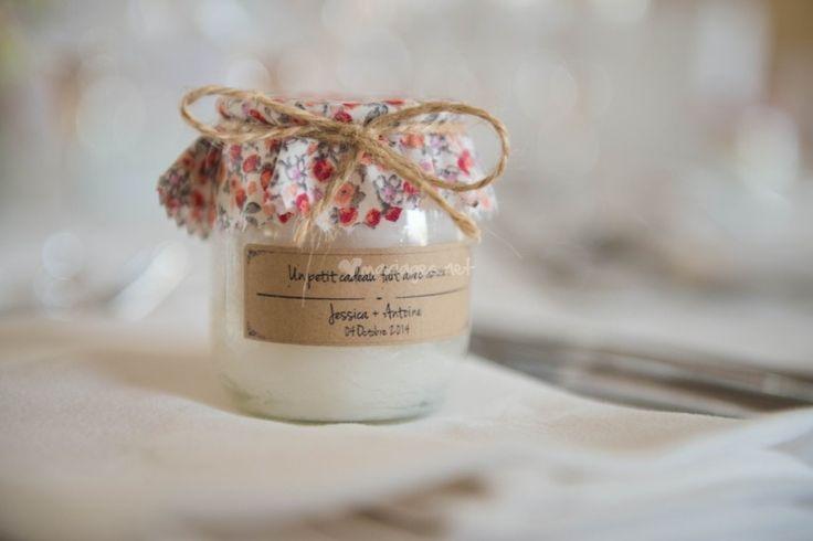 Mariage petit bud des bougies pour vos invités