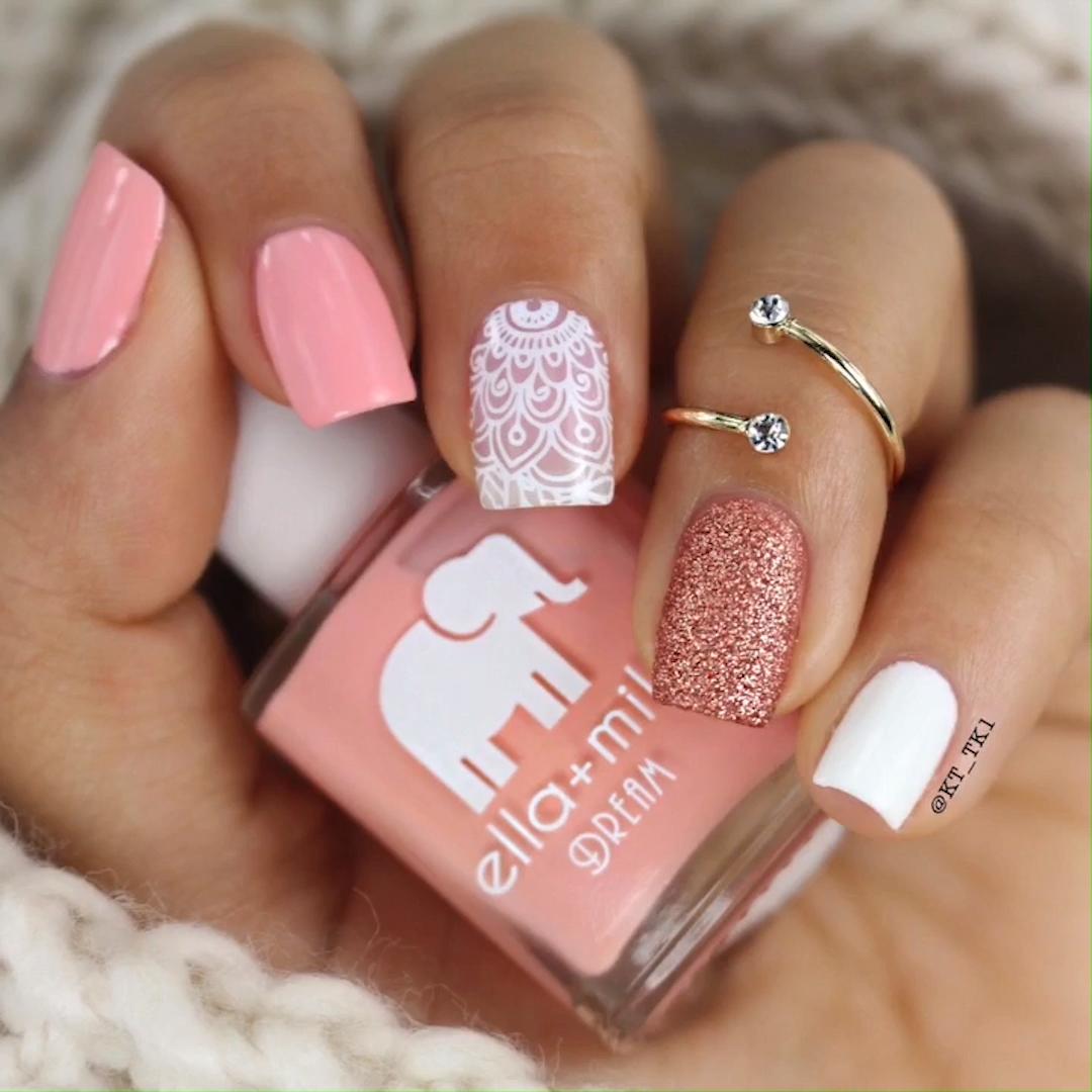 Photo of CUTE NAIL ART #nailart #pinknails #nails