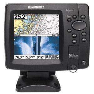 Humminbird 4089501 598ci Hd Si Combo Side Imaging Down Imaging Dualbeam Fishfinder And Gps By Humminbird 754 44 Humminbird 500 Humminbird Fish Finders Gps