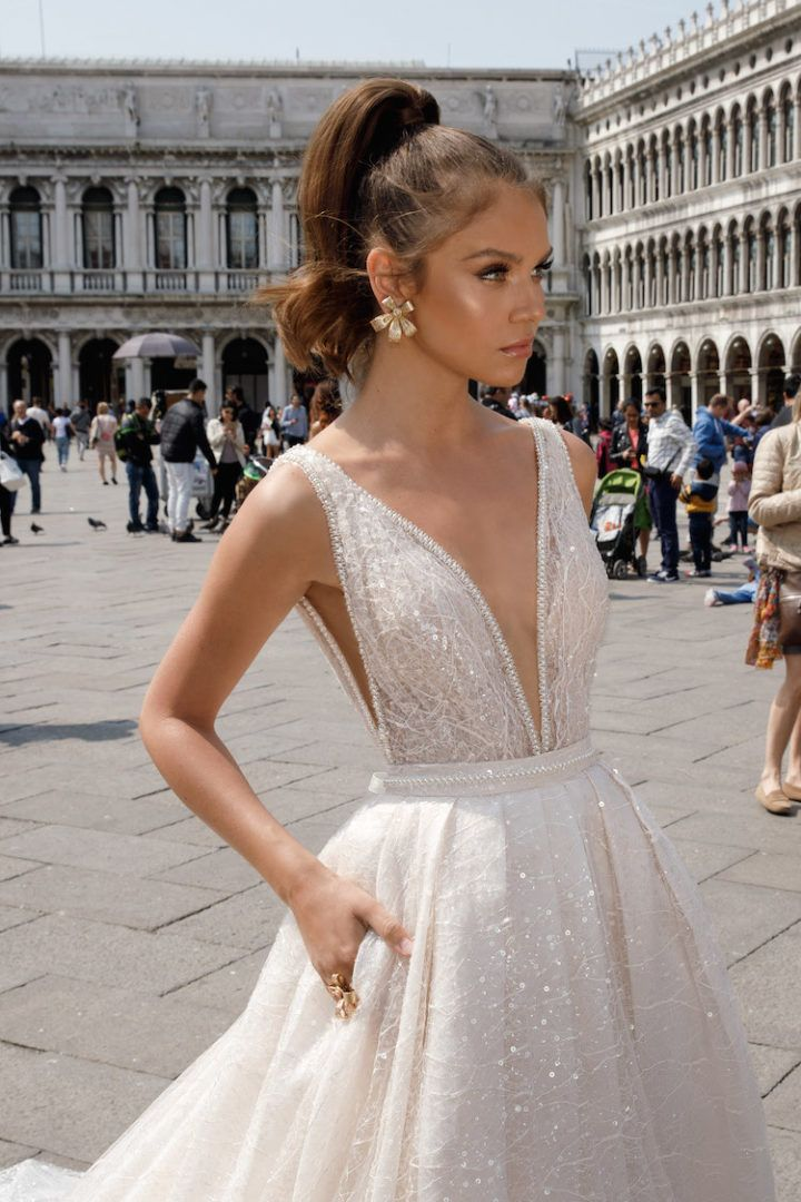 Photo of Show-Stopping Spring 2018 Julie Vino Wedding Dresses – MODwedding