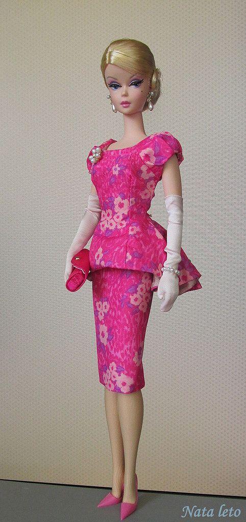 Fashionably Floral Silkstone BArbie Doll | by Nata-leto | Barbie ...