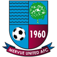 Mervue United Republic Of Ireland Galway League British Football Team Badge The Unit