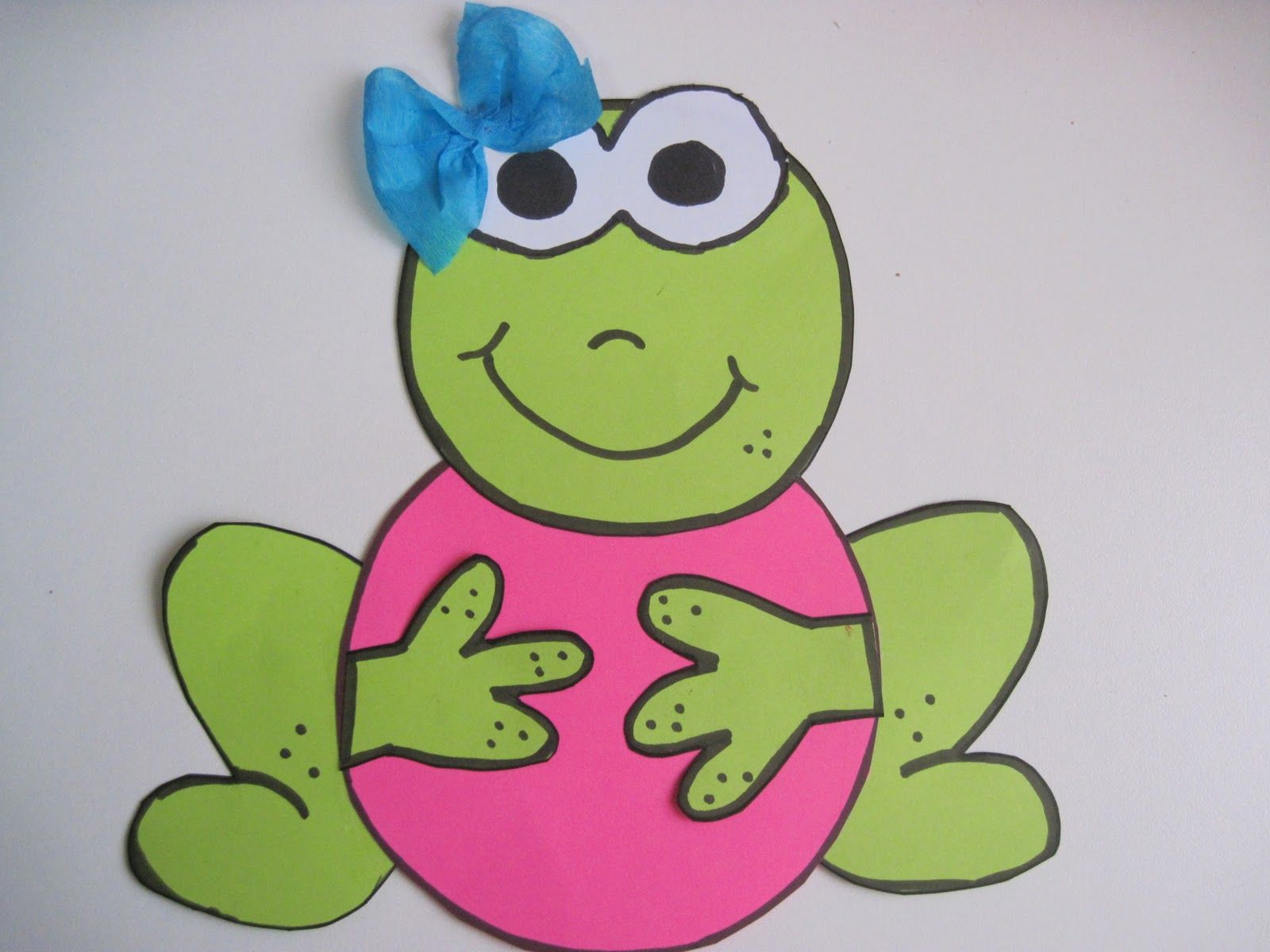 Frog Craft Idea For Kids