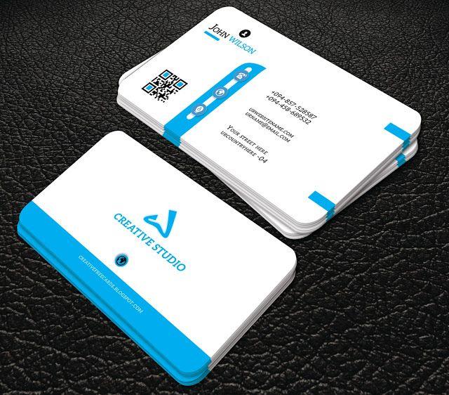 Professional Blue Colour Business Card Professional Business Card Professional Business Cards Business Cards Professional Business Cards Templates