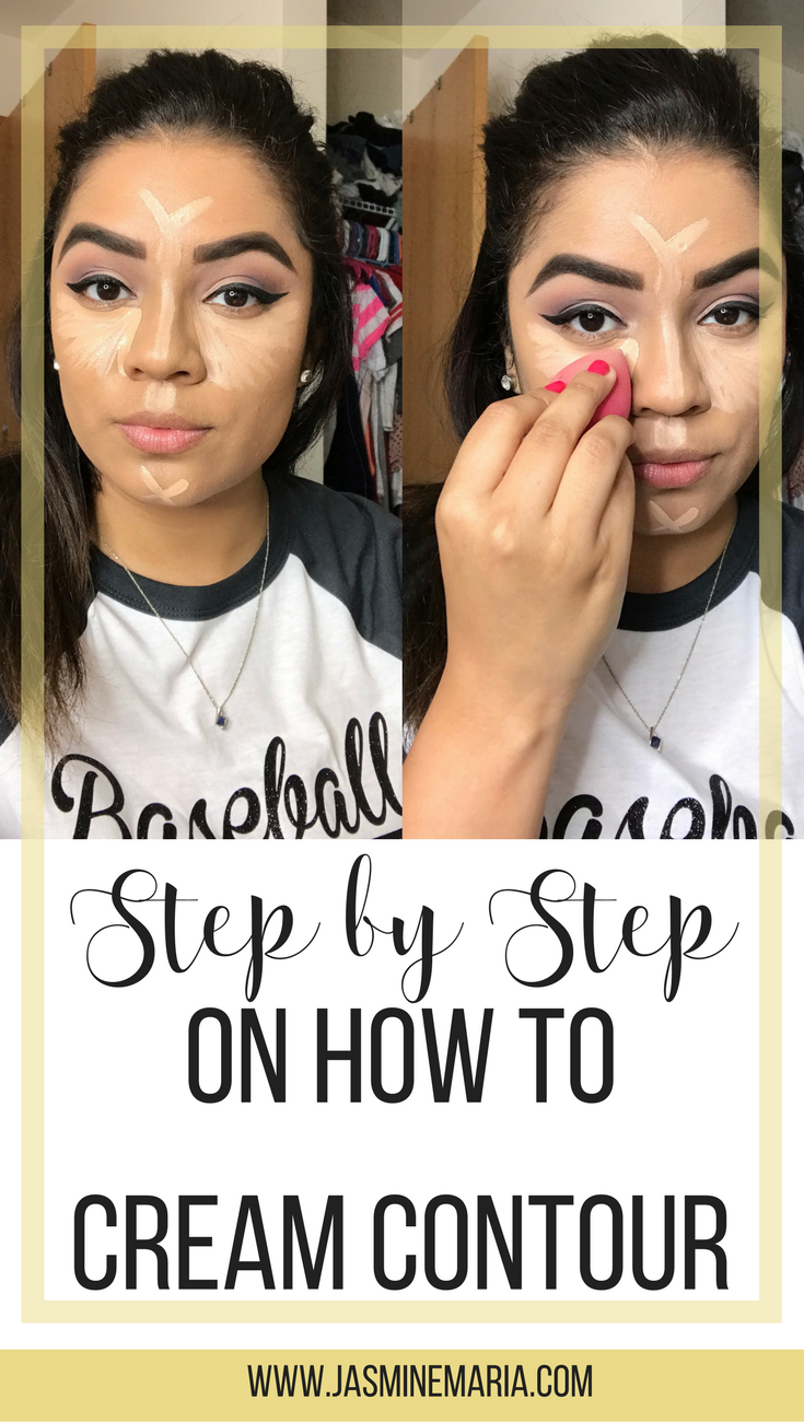 Not sure how to cream contour I have a step by step on how to do so