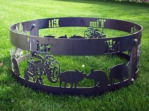 Custom Fire Pit Metal Art Gates Archways Etc Bbqs Outdoor Cooking Ottawa Kijiji Custom Fire Pit Fire Pit Fire Pit Ring