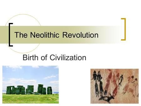 The Neolithic Revolution> in 2020 (With images ...