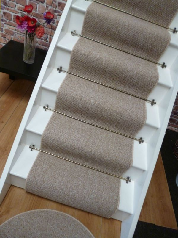 Best Carpet Stair Runner To Fit 13 Stairs Berber Style 400 x 300