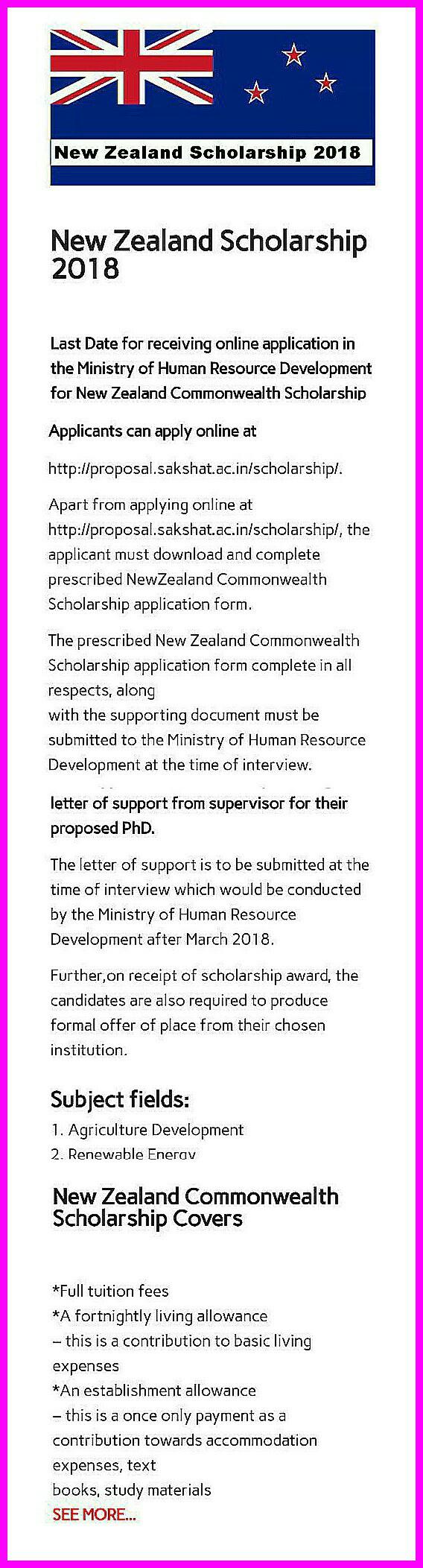 New Zealand Scholarship   Commonwealth