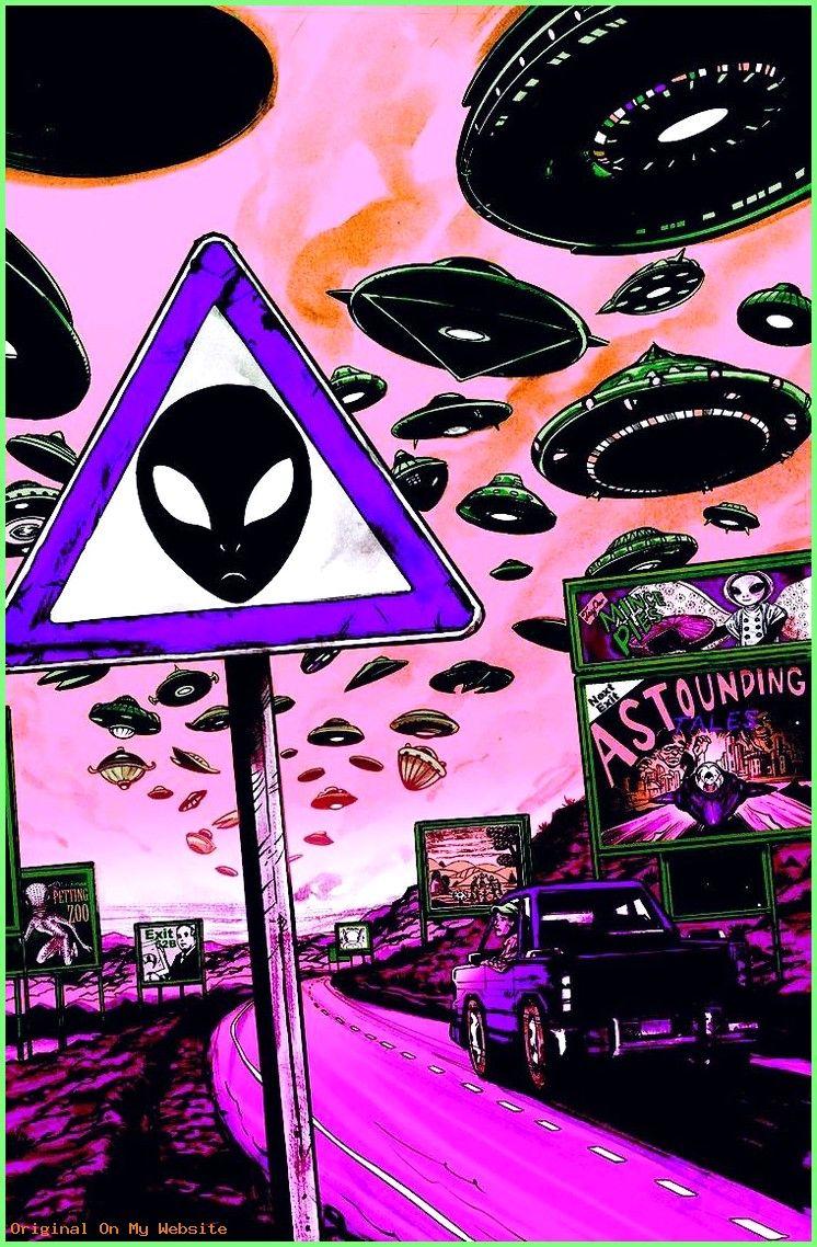 Wallpaper Tumblr Hd Purple Aliens Trippy Wallpaper Alien Art
