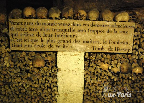 the Catacombs of París, Paris XIV