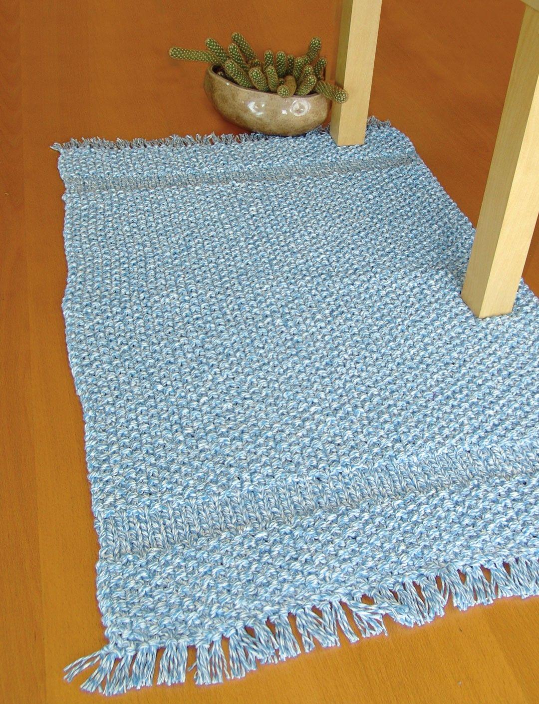 Yarnspirations.com - Bernat Rug -Free Pattern - Easy - Cotton - Yarn ...