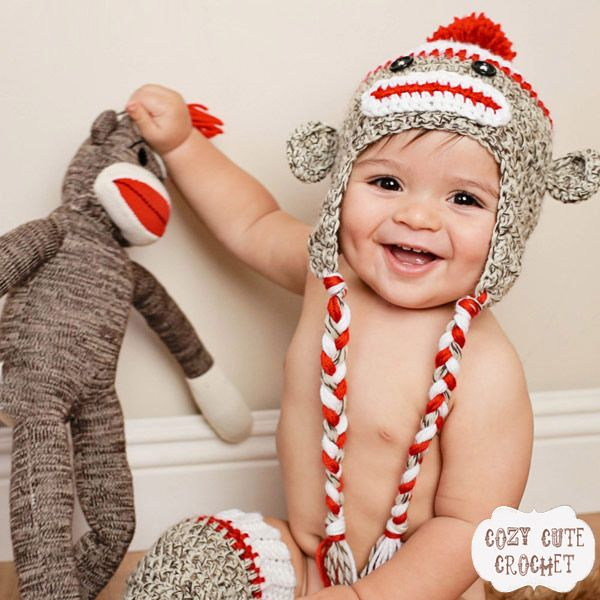 Were Bananas For This Monkey Hat For Babies Kids Fashion