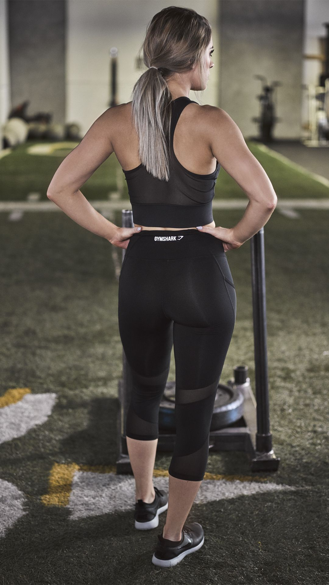 a6e0d088e025b The Sleek Sculpture Cropped leggings, ready to give you the coolest, most  comfortable workout.