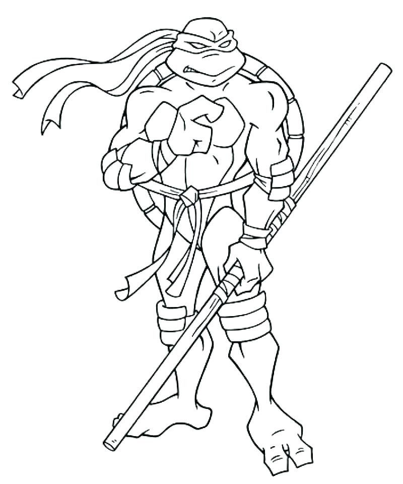 Donatello Ninja Turtle Coloring Page Youngandtae Com In 2020 Turtle Coloring Pages Ninja Turtle Coloring Pages Ninja Turtles