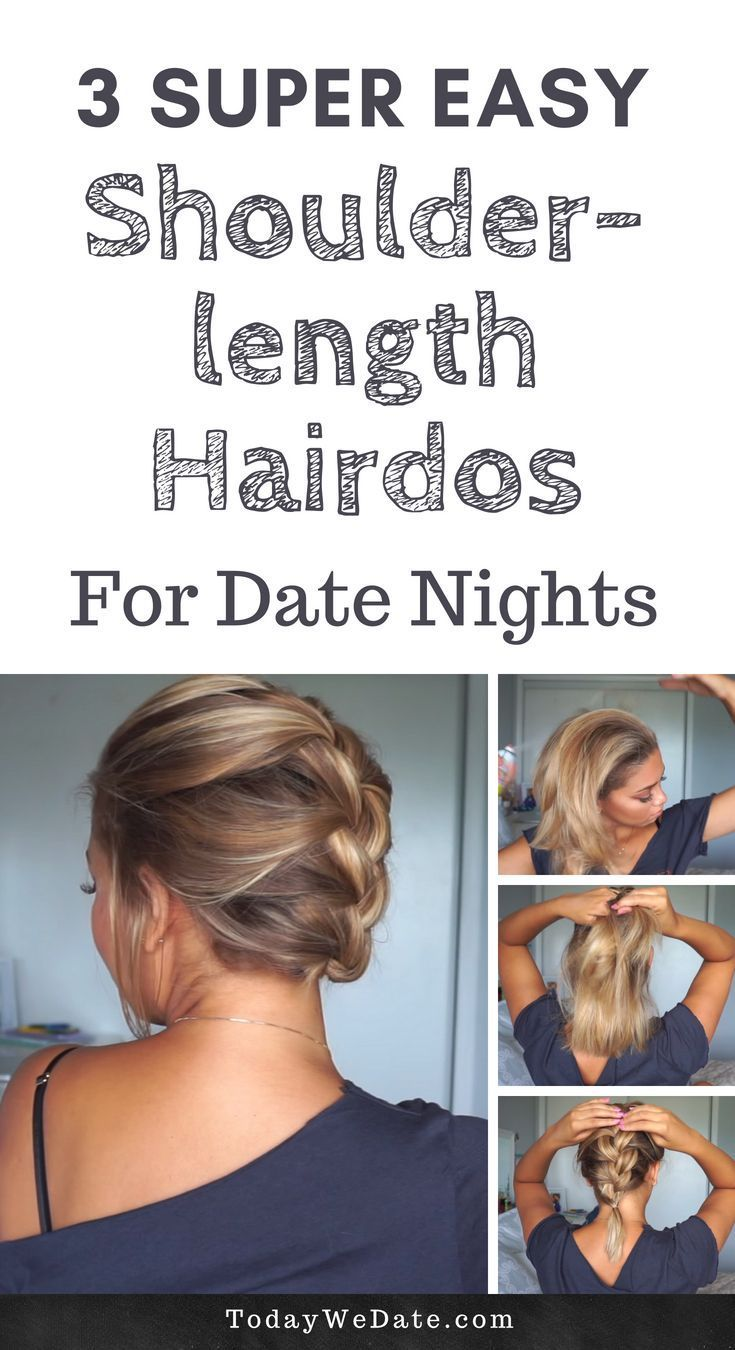 Super Easy Shoulder Length Hairstyles That Will Make Your Stand Out Shoulder Length Hairdos Medium Hair Styles Hair Lengths