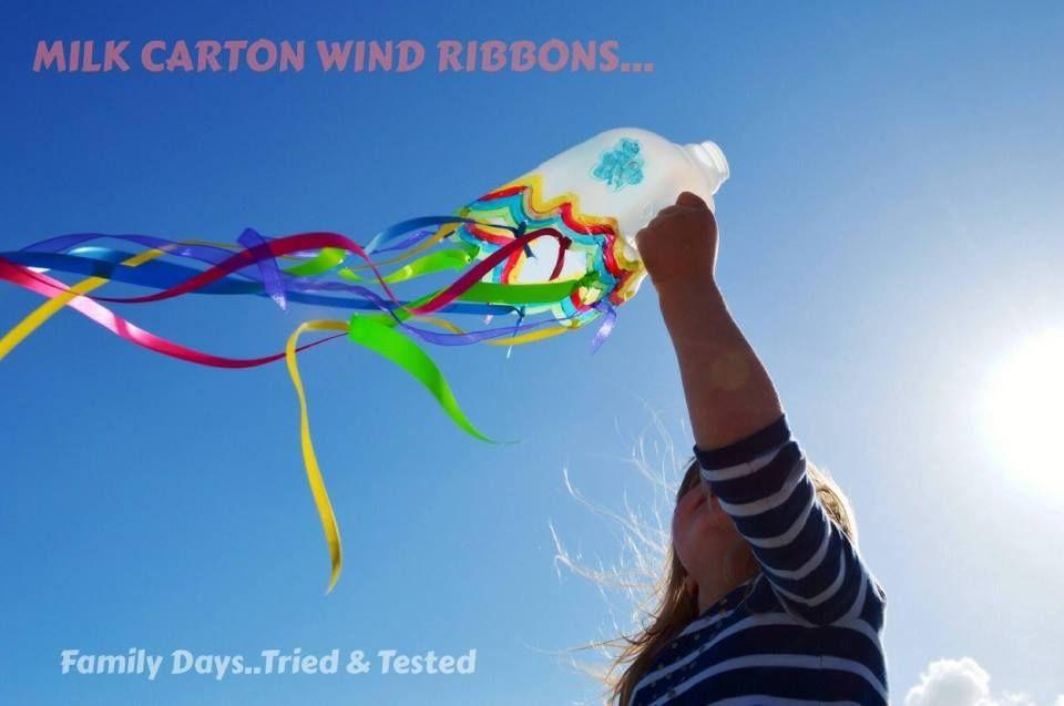 milk carton ribbons
