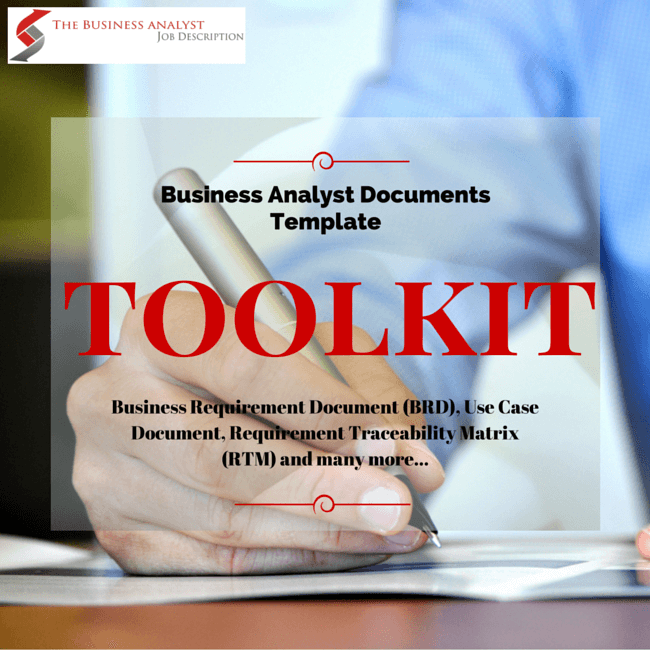 Get The Business Analyst Documents Template Toolkit Containing