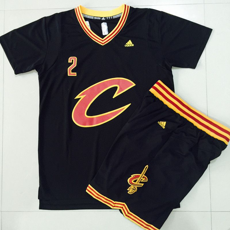 b32b6328 Cavaliers #2 #Kyrie #Irving Black 2016 final suits #nbajerseys | NBA ...