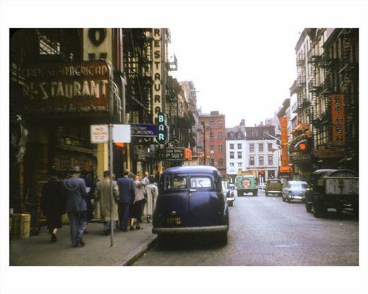 Chinatown Chinatown Mott Street Street