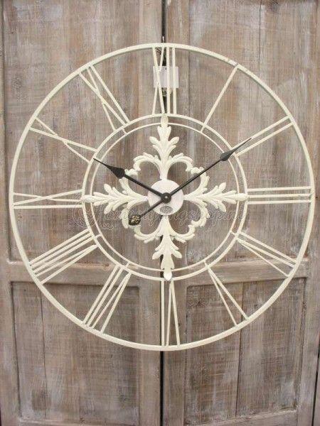 Mooie landelijke klok - Home decoration | Pinterest - Klok ...