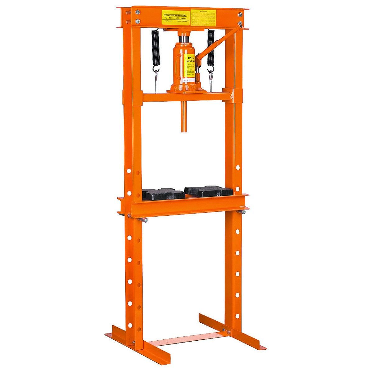 12 Ton H Frame Industrial Heavy Duty Floor Shop Press Shop Press H Frame Hydraulic Shop Press