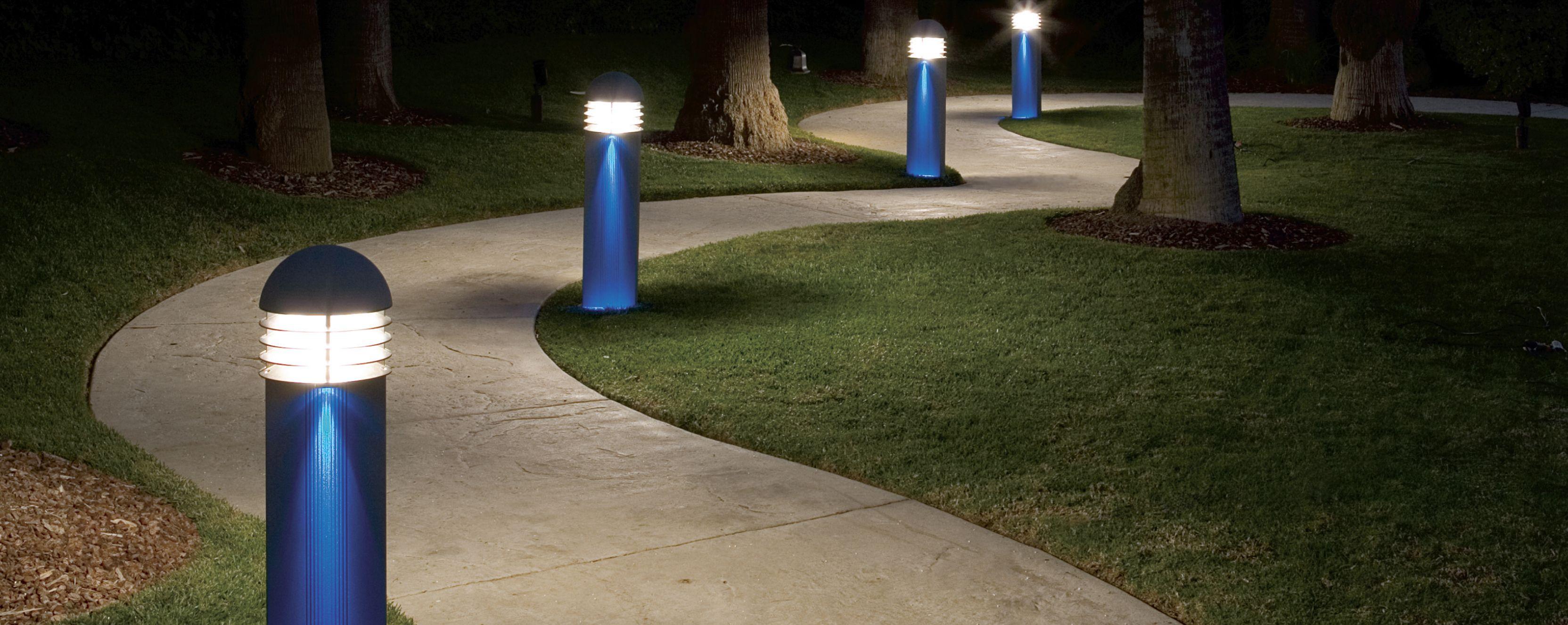 Bollard landing 2 outdoor lighting pinterest outdoor lighting love to decor your walkway or pathways here are beautiful walkway lighting ideas that surely enhance your walkway design aloadofball Images