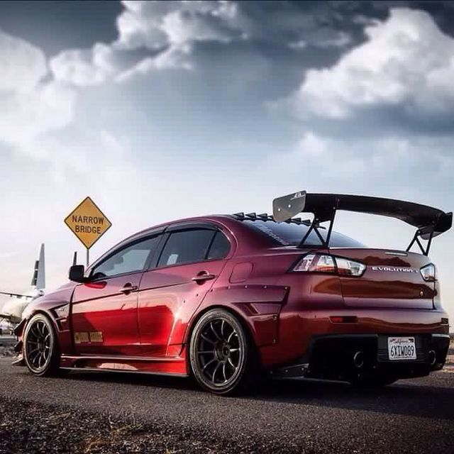 Jdm Mitsubishi Lancer Evolution 4k: Mitsubishi Evolution X #Mitsubishi #GreaseGarage