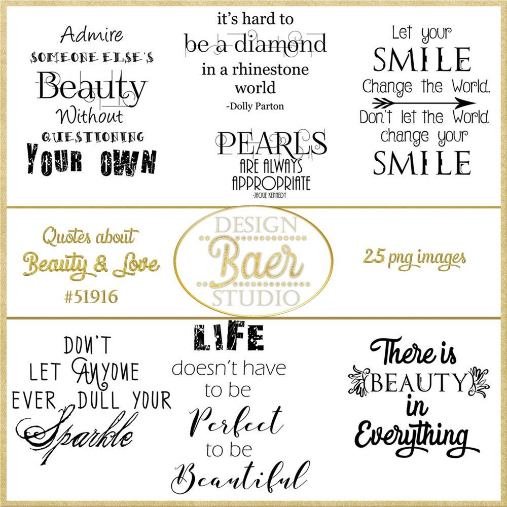 Word Art Clipart, Beauty Quotes, Pineapple Quote, Love
