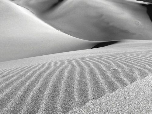 justemoinue2:  Great Sand Dunes  an almost erotic feeling to the...
