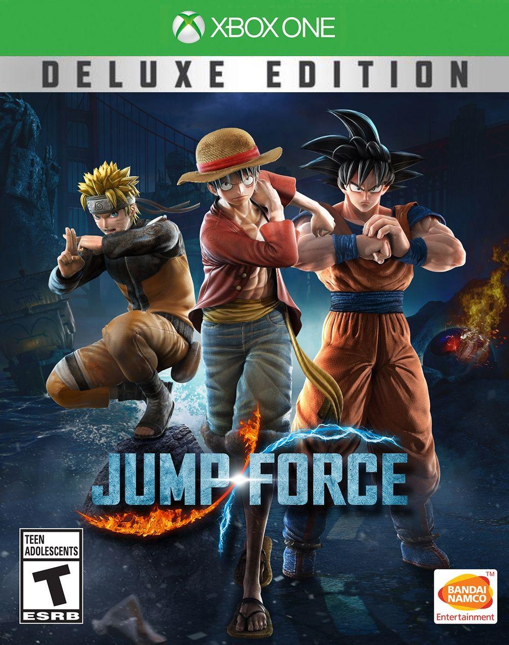Acheter jump force deluxe edition xbox one xbox manga