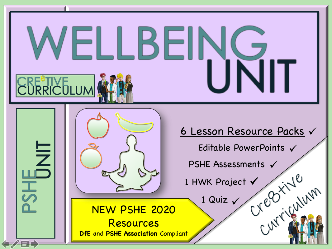 Wellbeing PSHE Unit in 2020 Teacher help, Education