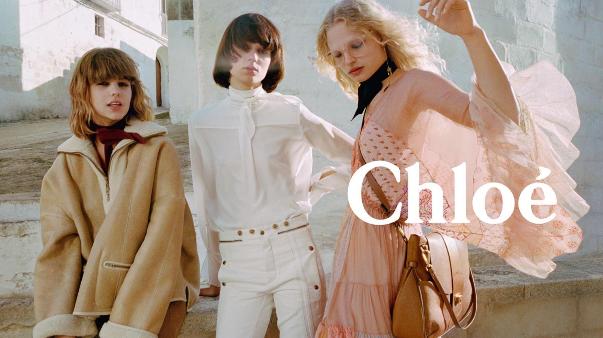 Frederikke Sofie Takes A Romantic Trip In Chloe S Autumn Winter 16 Campaign Chloe Fashion Campaign Fashion Editorial Fashion