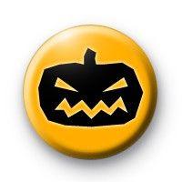 Black and Orange  Halloween Badges £0.85