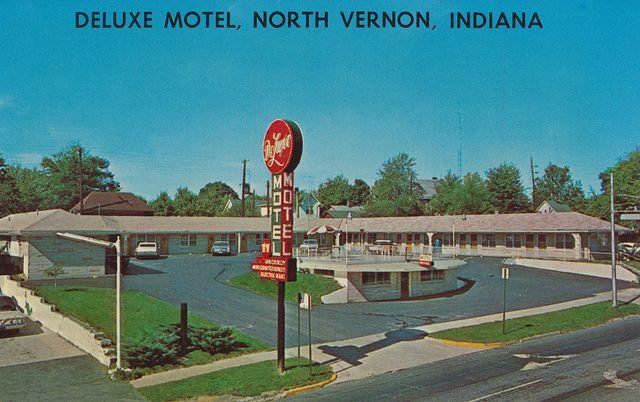 Deluxe Motel North Vernon Indiana Indiana Motel Vernon