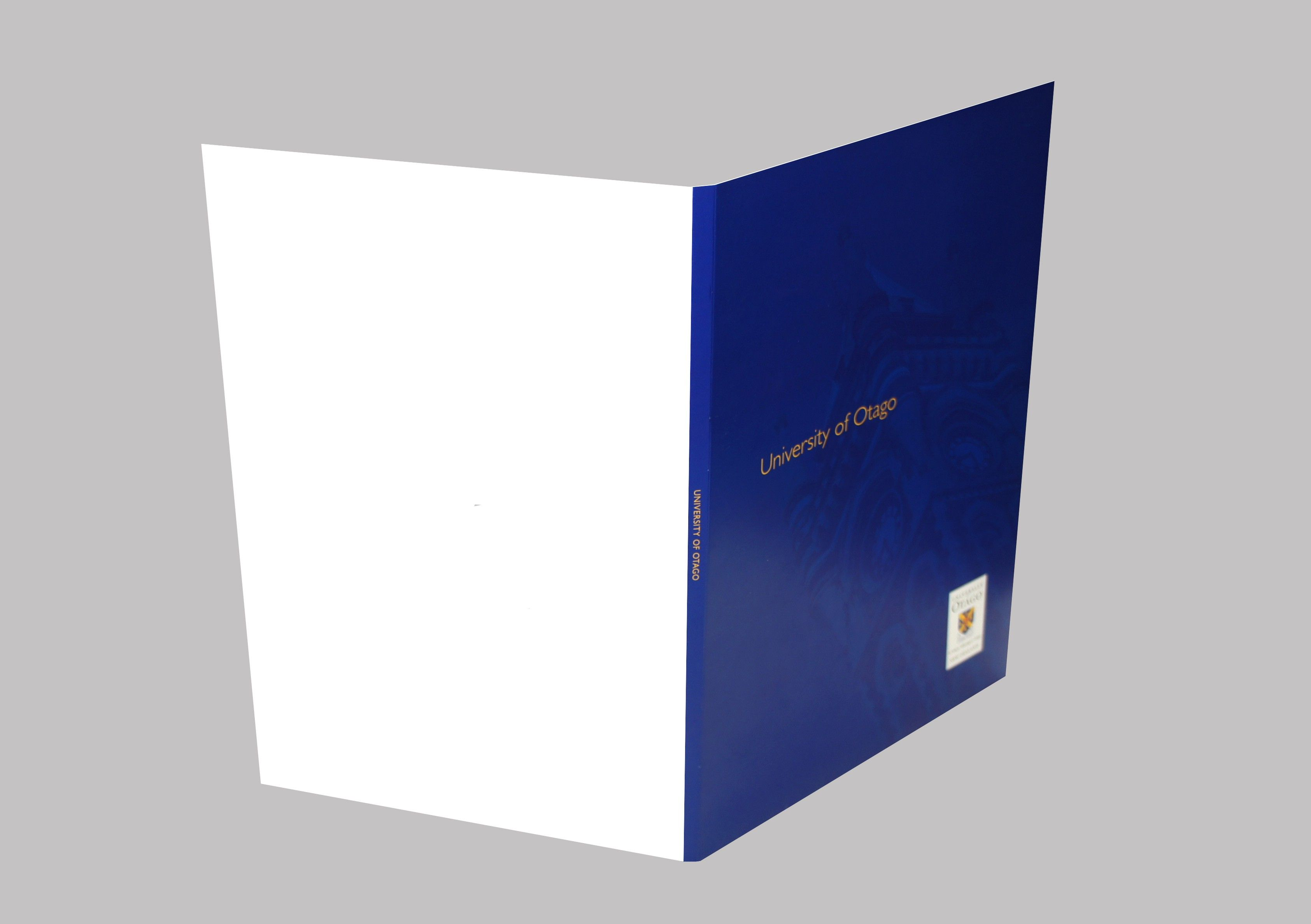 A4 Presentation Folder  Stationery  Gifts, University Of Otago