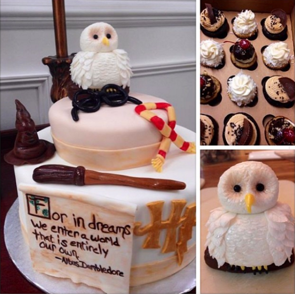 Another Baby Shower Set The Standard For Harry Potter Themed Baby Cakes. |  23
