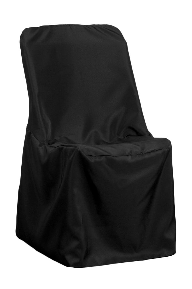 Contemporary Lifetime Folding Chair Cover Black