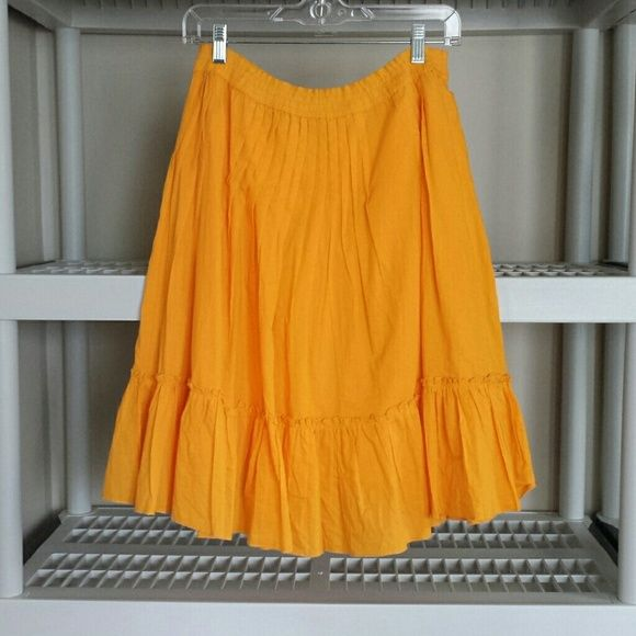 % COTTON  SKIRT  W/ ELASTIC WAISTBAND  NWT!  IF YOU HAVE ANY ADDITIONAL QUESTIONS, PLEASE ASK BEFORE YOU PURCHASE! THANK YOU ☺ biographie Skirts A-Line or Full